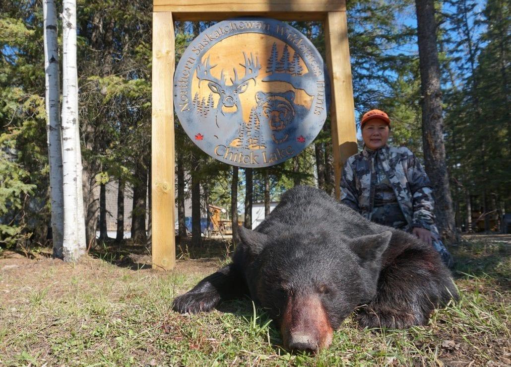 Saskatchewan black bear hunt